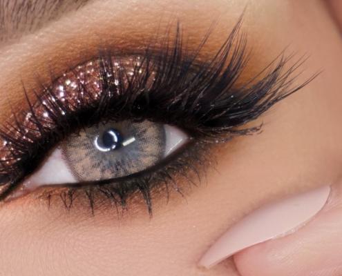 Glitter Eyes - Christiane Dowling Makeup Artist