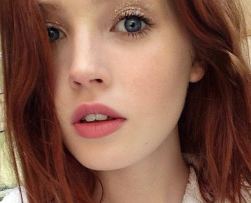 Ellie Bamber - Christiane Dowling Makeup Artist