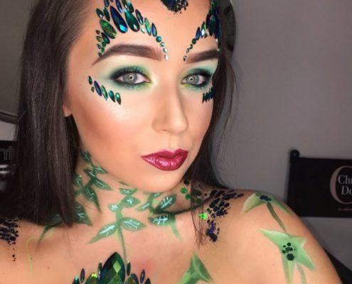 Halloween Makeup Artist - Body Paint - Christiane Dowling