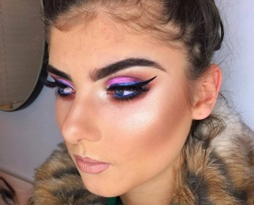 Glam Rock Style Makeup - Christiane Dowling Professional Makeup Artist