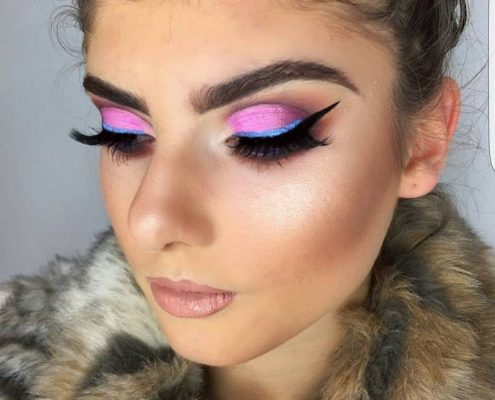 Glam Rock Makeup - Christiane Dowling