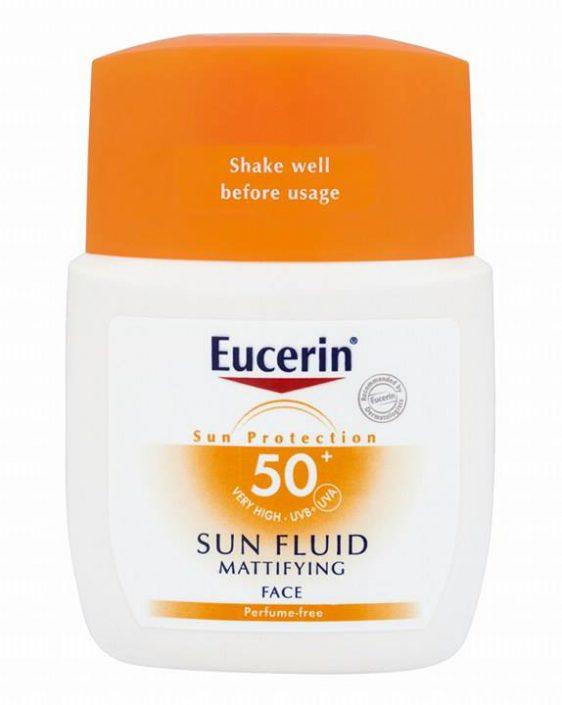 Eucerin Sun Fluid Mattifying SPF 50+