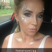 Festival Makeup - Christiane Dowling Professional Makeup Artist