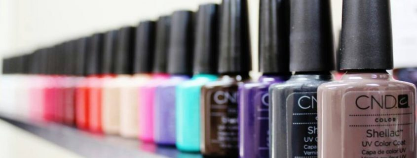 CND Shellac colours - Christiane Dowling