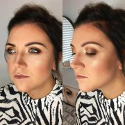 Birthday party make up - Christiane Dowling