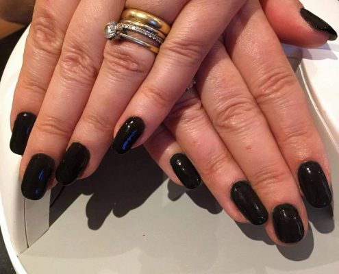 shellac nails in Frimley