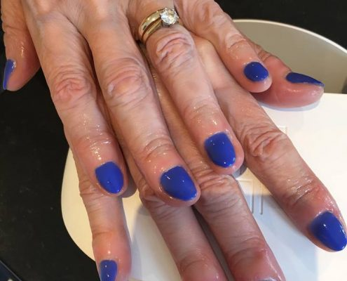 shellac nails Alton