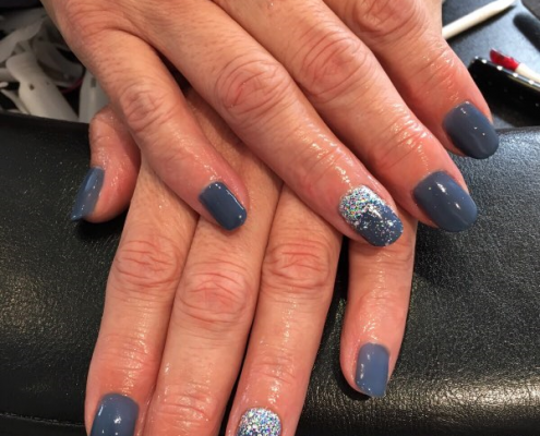 shellac nails guildford