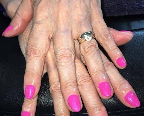 shellac nails blackwater