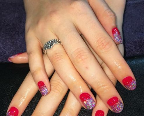 shellac nails windsor