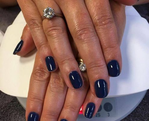 shellac nails virginia water