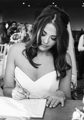 Bride Makeup - Millbridge Court Frensham Christiane Dowling