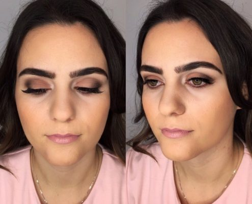 Evening Makeup - Christiane Dowling Makeup Artist in London