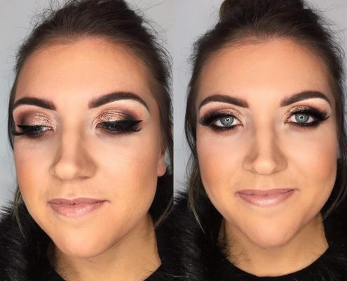 Christmas Party Makeup Artist Hampshire - Christiane Dowling