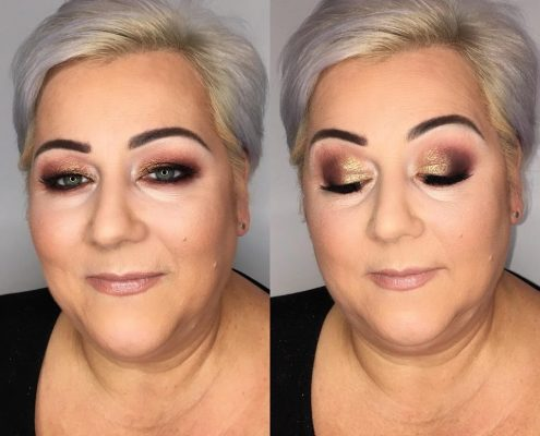 Christmas Party Makeup - Christiane Dowling Surrey