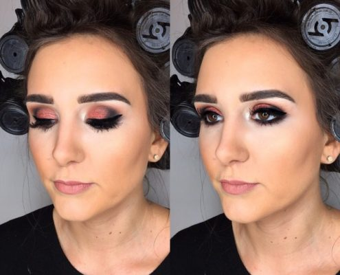 Christmas Party Makeup Artist London - Christiane Dowling