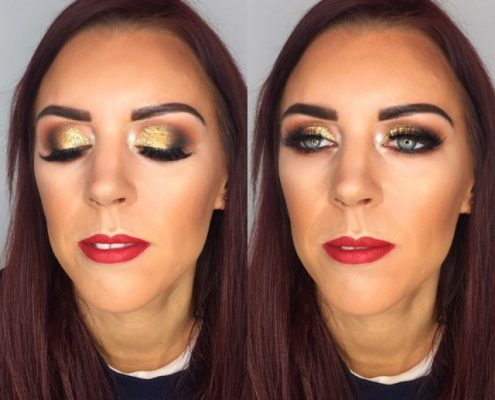 Christmas Party Makeup Artist Berkshire - Christiane Dowling