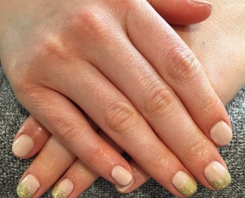 shellac nails crowthorne