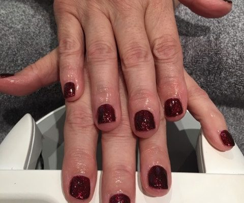 shellac nails hartley