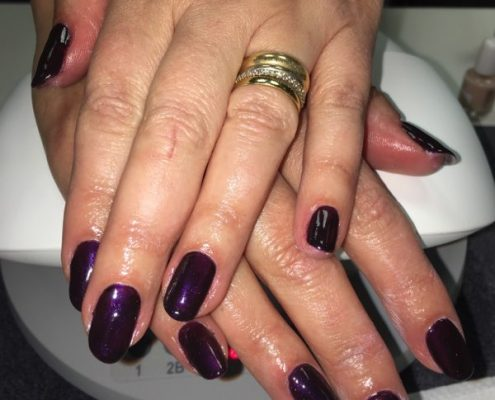 shellac nails in alton