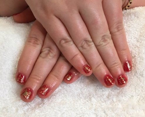 Shellac nails farnham