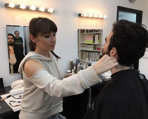 Men Makeup Artist - Christiane Dowling Professional Makeup Artist
