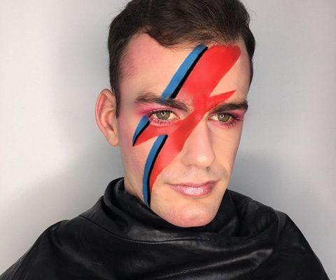 David Bowie Makeup - Christiane Dowling