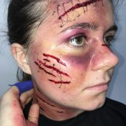 Special Effects (SFX) Makeup for TV - Christiane Dowling Professional Makeup Artist Surrey Hampshire Berksire