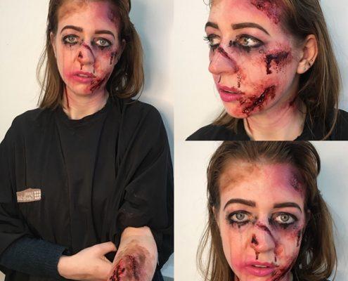 Professional Makeup Artist - Christiane Dowling Makeup Artistry - Halloween Makeup - Wokingham Berkshire