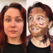 Professional Makeup Artist - Christiane Dowling Makeup Artistry - Halloween Makeup - Camberley Surrey