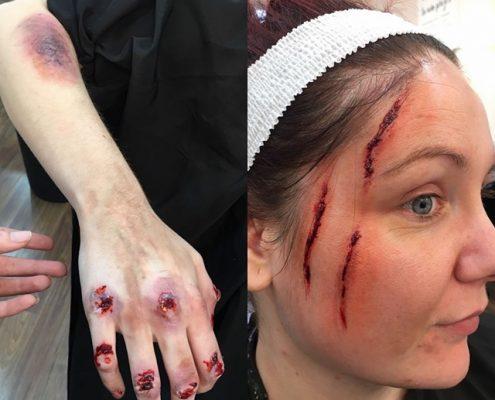 Professional Makeup Artist - Christiane Dowling Makeup Artistry - Halloween Makeup - Fleet Hampshire
