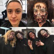 Professional Makeup Artist - Christiane Dowling Makeup Artistry - Halloween Makeup - Sandhurst Berkshire