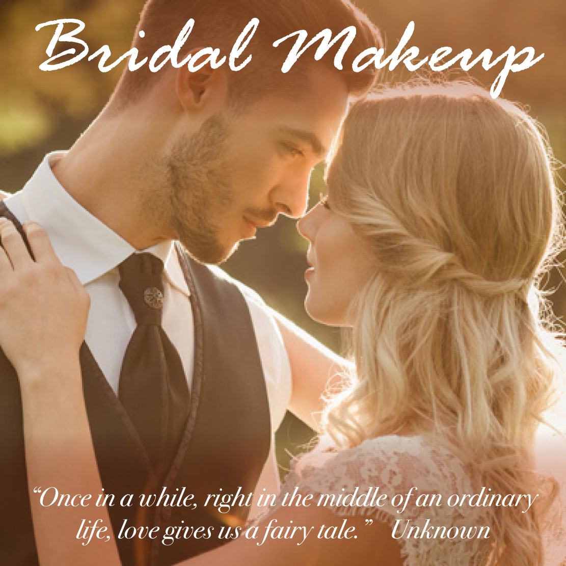 bridal makeup prices - christiane dowling
