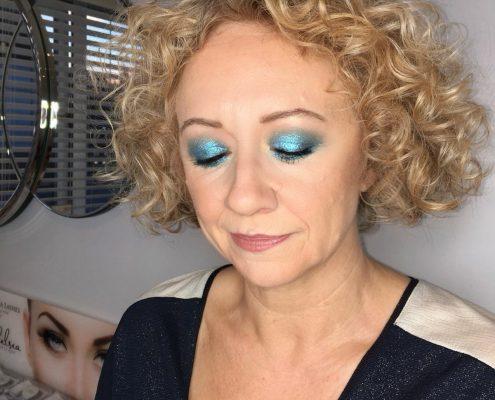 Professional Makeup Artist - Sandhurst Berkshire - Disco Theme Party- Berkshire Hampshire Surrey