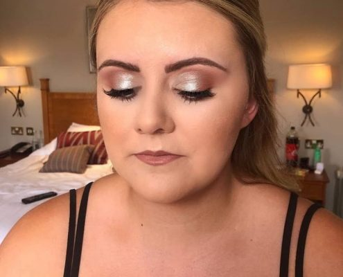 Wedding Makeup - The Elvetham Hotel - Christiane Dowling Makeup Artistry
