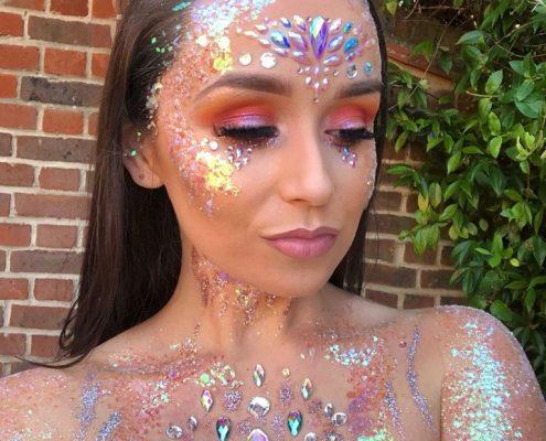 Festival Makeup - Sandhurst Berkshire