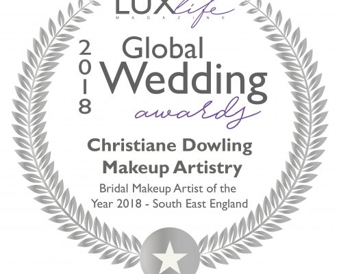 LUX Global Wedding Award Winner - Christiane Dowling Makeup Artistry