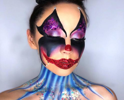 Halloween Makeup by Christiane Dowling Makeup Artistry
