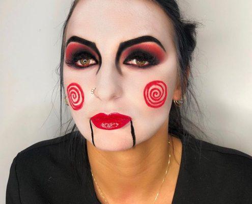 Halloween Makeup - Camberley Surrey