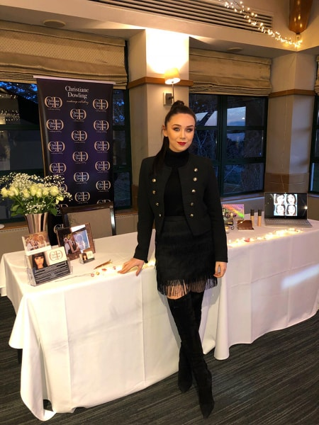 Christiane Dowling - Preferred Makeup Artist for Camberley Heath