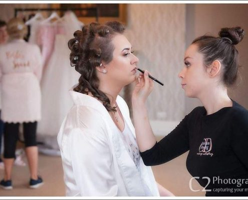 Bridal Makeup at The Elvetham Hotel in Hartley Wintney