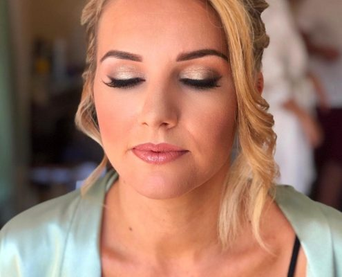 Wedding Makeup at Cantley House in Wokingham by Christiane Dowling Makeup Artistry