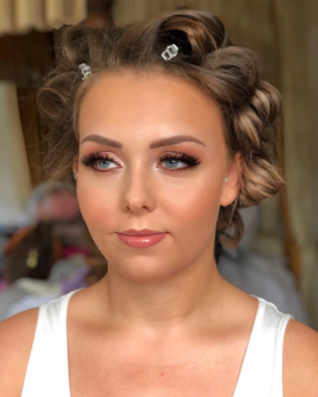 Wedding Makeup at Cantley House Wokingham Berkshire