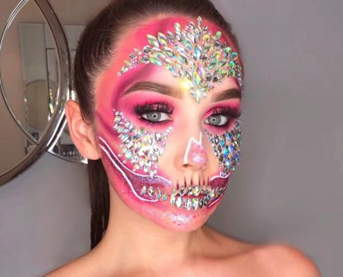 Halloween Makeup in Hampshire