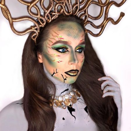 Medusa - Halloween Makeup by Christiane Dowling Makeup Artistry