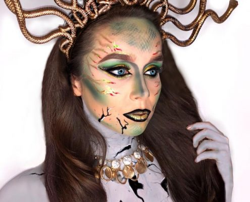 Medusa - Halloween Makeup by Christiane Dowling Makeup Artistry