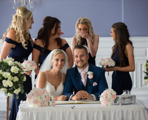 Wedding Makeup at Oakley Hall Hotel in Basingstoke, Hampshire