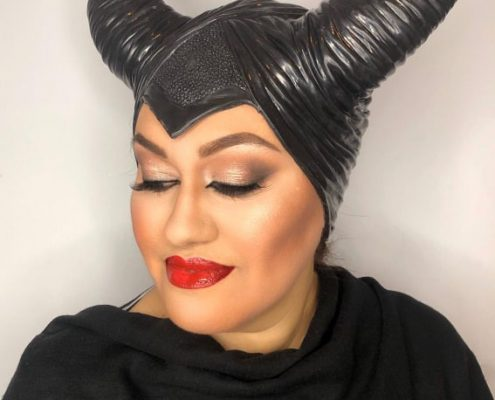 Maleficent - Halloween Makeup by Christiane Dowling Makeup Artistry