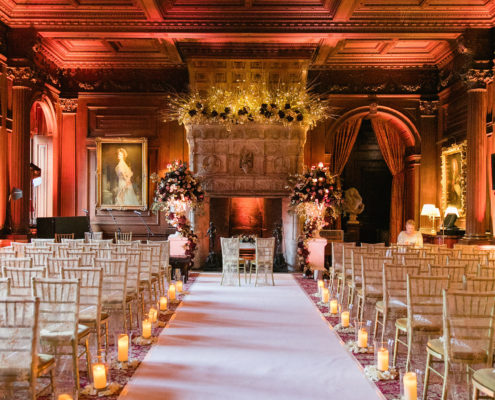 Bridal Makeup at Cliveden House in Taplow
